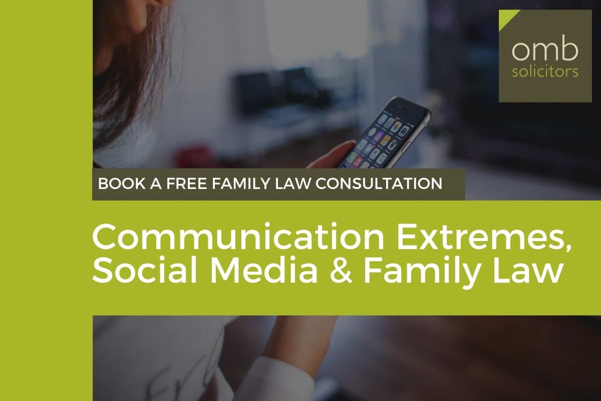 family law social media