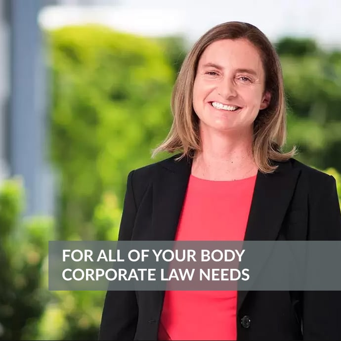 Juliette Nairn - Body-Corporate Lawyer Gold Coast